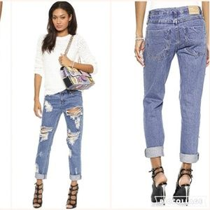 One X One Teaspoon Awesome Baggies Destroyed Jeans